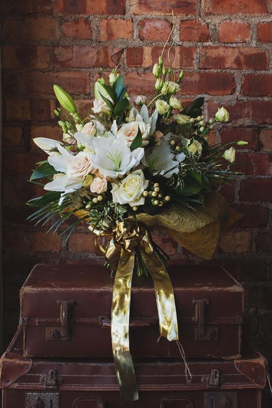 50th Wedding Anniversary Golden Buy Online Or Call 02844 616 160