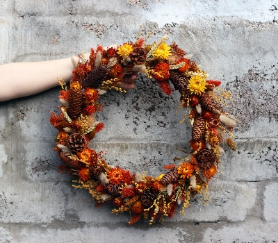 Autumn Dried Wreath
