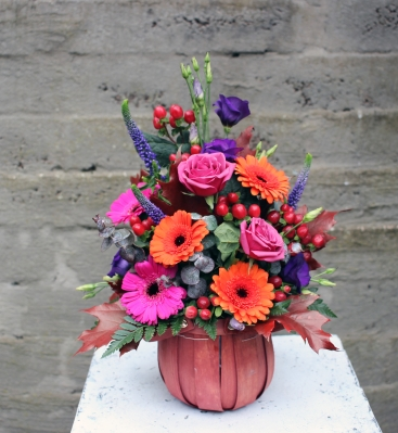 Mini Autumn Basket