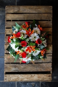 Artificial Orange Posy