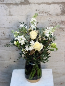 Fragrant White Vase